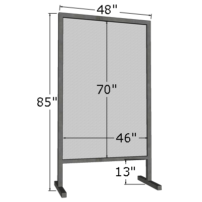 4' x 6' Vertical Poster Board